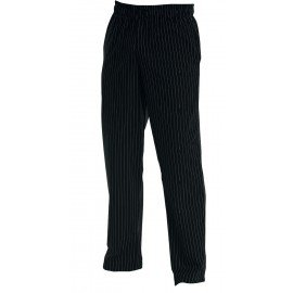 CHEF'S TROUSER - BAGGIES BLACK