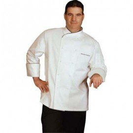 CHEFS UNIFORM  EGYPTIAN COTTON EXEC LONG