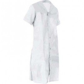 LADIES HOUSEKEEPING 1PC - WHITE