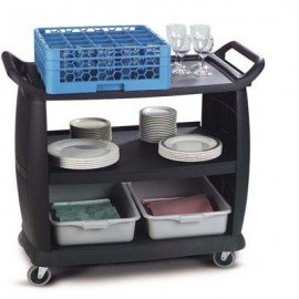 BUSSING & TRANSPORT CART(BLACK) LARGE
