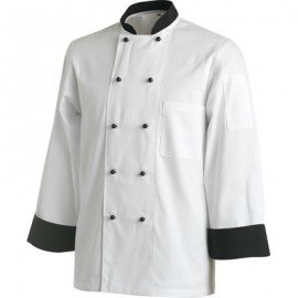CHEFS UNIFORM JACKET BASIC SHORT  X SMALL