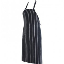 CHEFS UNIFORM  FULL BIB WHITE APRON