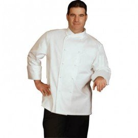CHEF UNIFORMS - EGYPTIAN COTTON WHITE