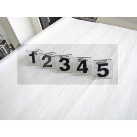 PLASTIC TABLE NUMBER STAND