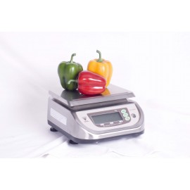 PORTION SCALE ELECTRONIC - 6kg STAINLESS STEEL (5g INCREMENTS)