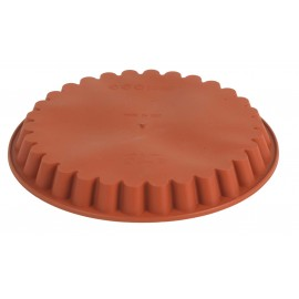 MOULD SILICONE  ROUND (FLUTED EDGE) 280 x 32MM