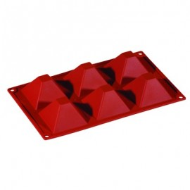 SILICONE MOULD FORMAFLEX 6 PORTION PYRAMID