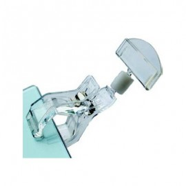 PLASTIC DISPLAY CLIP WIDE BASE