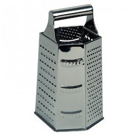 GRATER STAINLESS STEEL  6 SIDED