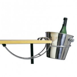 ICE BUCKET STAND  TABLE MOUNTED  STAND ONLY  EXCLUDES ICE BUCKET