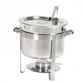 CHAFING DISH S/STEEL- SOUP STATION