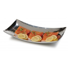 S/STEEL CURVED TRAY