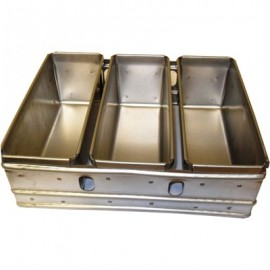 BREAD TRAY ALUSTEEL - THREE TRAY - BO3