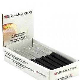 PAIRING KNIFE 100MM BLACK BOX SET GRUNTER 20PC