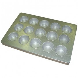 BAKING TRAY ALUSTEEL - LARGE MUFFIN 15 CUP 600 x 400mm