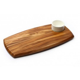 WOODEN SERVING BOARD REVERSIBLE
