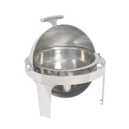 CHAFING DISH ROUND - ROLL TOP (180 DEGREE)