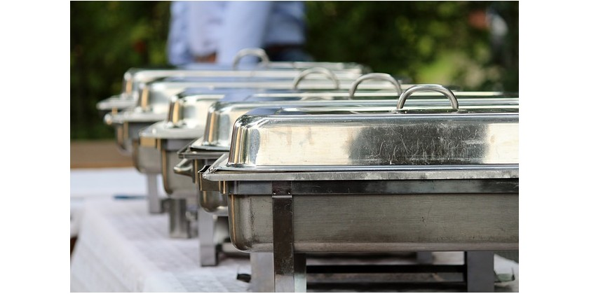 Keep Food Warm in Elegant Chafing Dishes