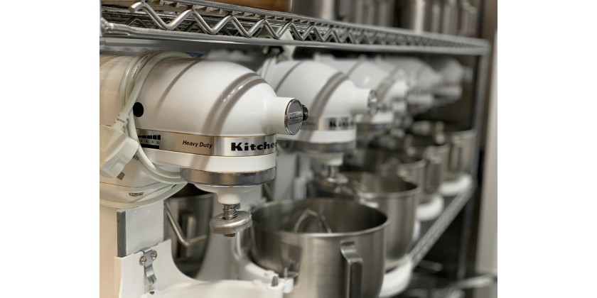 The Kitchenaid Mixer is Designed For The Commercial Kitchen