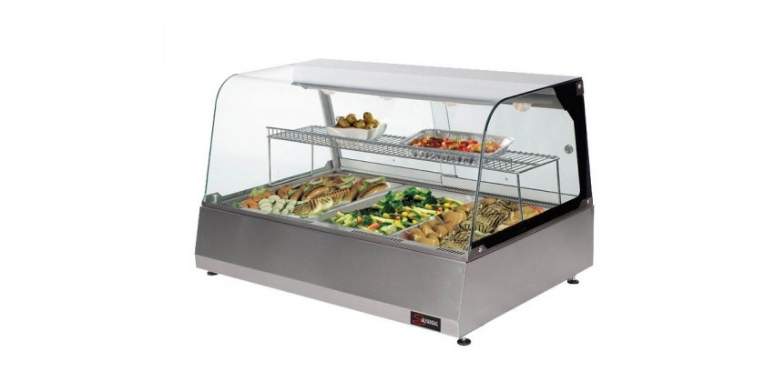 Display Food Safely with the Salvadore Heated Display Merchandiser